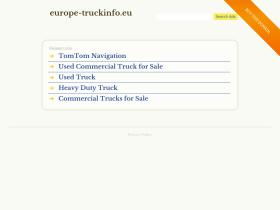 europe-truckinfo.eu