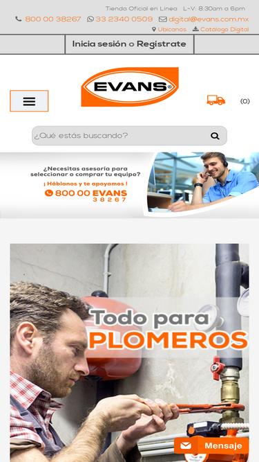 Evans com mx Analytics - Market Share Stats & Traffic Ranking