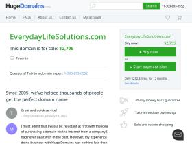 everydaylifesolutions.com