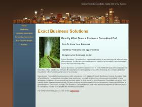 exactbusinesssolutions.co.uk