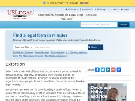extortion.uslegal.com