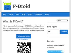 F-droid org Analytics - Market Share Stats & Traffic Ranking