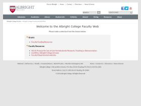 faculty.albright.edu