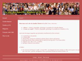 famille-madore.fr
