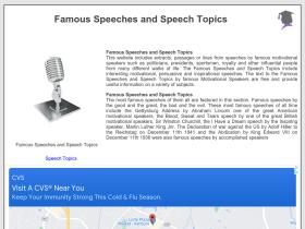 famous-speeches-and-speech-topics.info