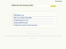 federal-tax-forms.info
