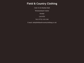 fieldandcountryclothing.co.uk