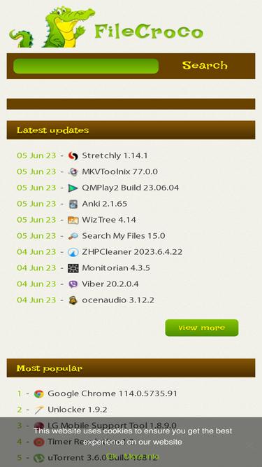 Filecroco com Analytics - Market Share Stats & Traffic Ranking