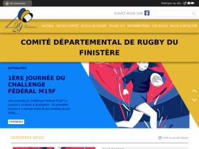 finistere-rugby.fr