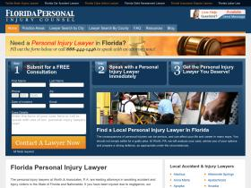floridapersonalinjurycounsel.com