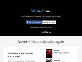 followshows.com