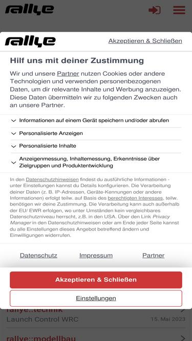 rallye magazin forum