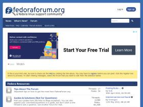 forums.fedoraforum.org