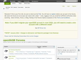 forums.opensuse.org