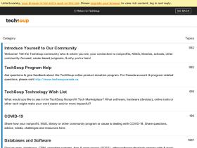 forums.techsoup.org