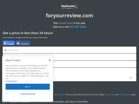 foryourreview.com