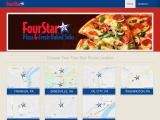 fourstarpizza.com