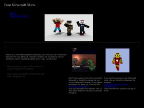 freeminecraftskins.webstarts.com