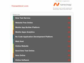freewebtext.com
