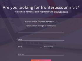 fronterussounirr.it