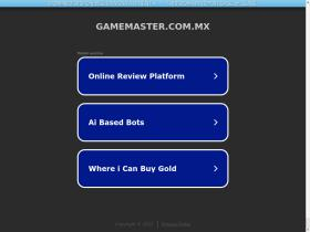 gamemaster.com.mx