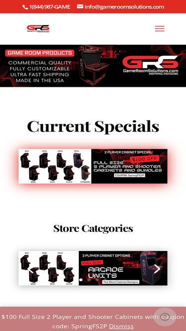 gameroomsolutions com analytics market share stats traffic ranking