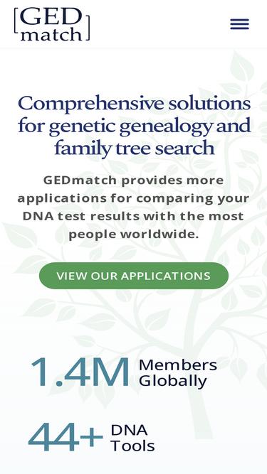 Gedmatch com Analytics - Market Share Stats & Traffic Ranking