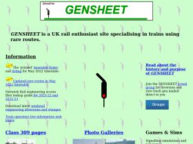 gensheet.co.uk