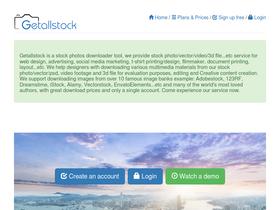 Getallstock com Analytics - Market Share Stats & Traffic Ranking