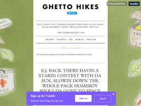ghettohikes.tumblr.com