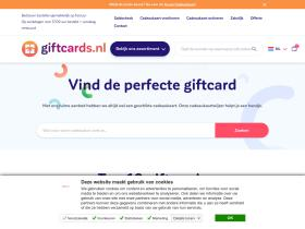 giftcards.nl Analytics Stats