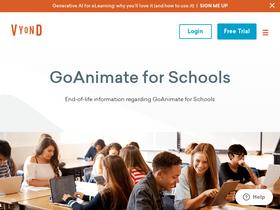 Goanimate4schools com Analytics - Market Share Stats & Traffic Ranking