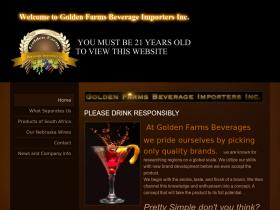 goldenfarmsbeverage.com