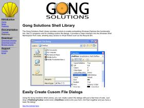 gong-shell.sourceforge.net