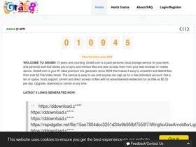 Grab8 com Analytics - Market Share Stats & Traffic Ranking