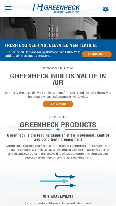 Greenheck com Analytics - Market Share Stats & Traffic Ranking