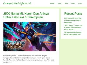 greenlifestyle.or.id