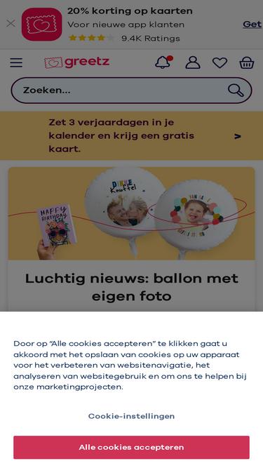 6f9a7bb00d1389 Greetz.nl Analytics - Market Share Stats & Traffic Ranking