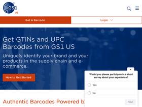 Gs1us org Analytics - Market Share Stats & Traffic Ranking