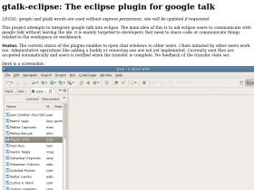 gtalk-eclipse.sourceforge.net