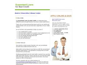 guaranteedloansforbadcredit.co.uk
