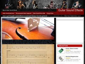 guitarsoundeffects.com