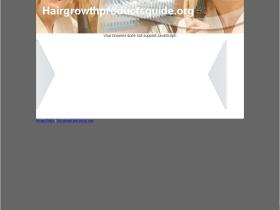 hairgrowthproductsguide.org