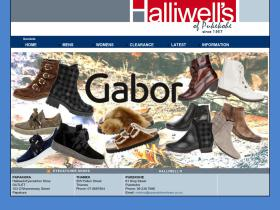halliwellshoes.co.nz