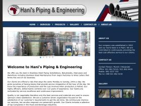hanispiping.co.za