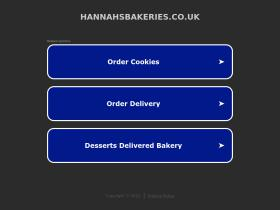 hannahsbakeries.co.uk