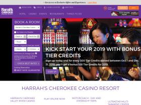 harrahscherokee.com