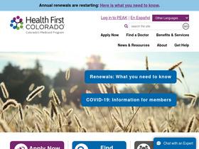 Healthfirstcolorado com Analytics - Market Share Stats