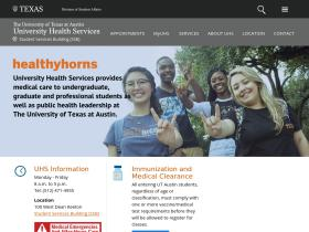 healthyhorns.utexas.edu