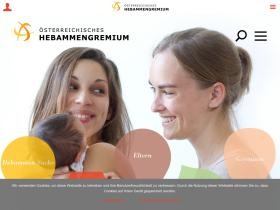 hebammen.at